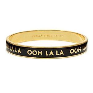 Kate Spade Ooh la la bangle bracelet